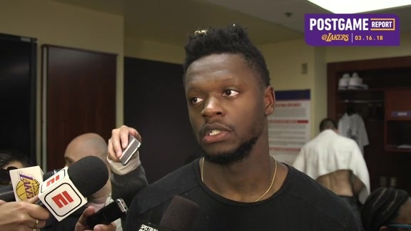 Postgame: Julius Randle (3/16/18)