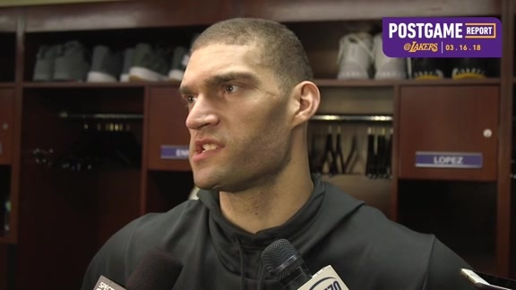 Postgame: Brook Lopez (3/16/18)
