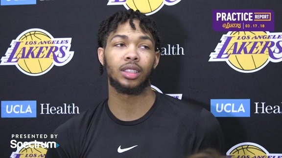 Practice Report: Brandon Ingram (3/17/18)