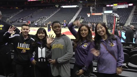 Lakers Mentor Road Trip 2018