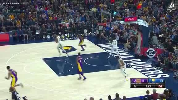 Julius Lays It In
