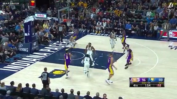 HIGHLIGHTS: Lakers at Pacers