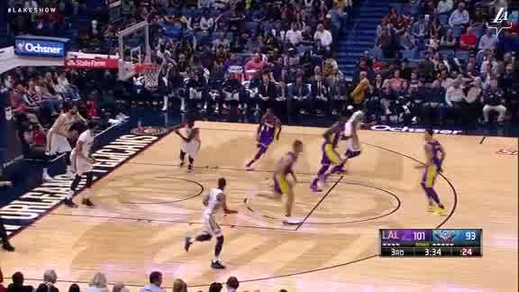 Lopez Continues to Own the Paint