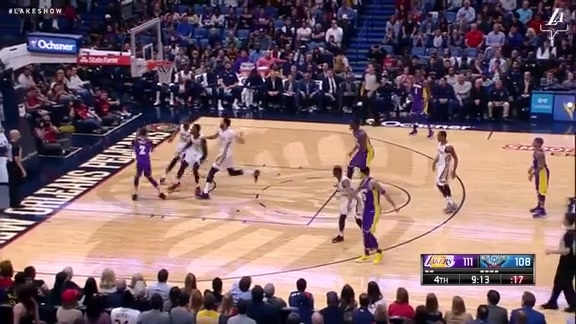 HIGHLIGHTS: Lakers at Pelicans