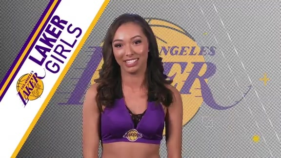 Laker Girls Profile - Cameryn