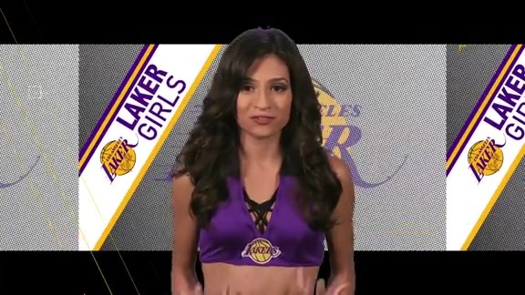 Laker Girls Profile - Jade