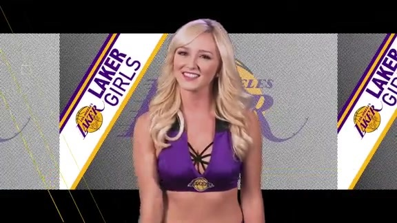Laker Girls Profile - Julianne