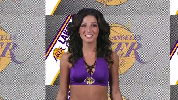 Laker Girls Profile - Kiana