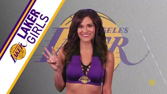 Laker Girls Profile - Raquel