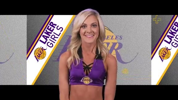 Laker Girls Profile - Tiege