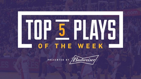 Top 5 Plays of the Week (3/23/18)