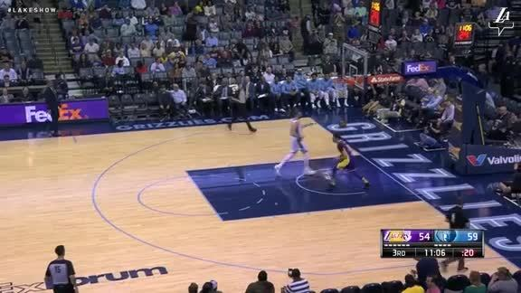 Lonzo's Steal and Slam