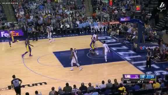 Lonzo's Two-Handed Flush