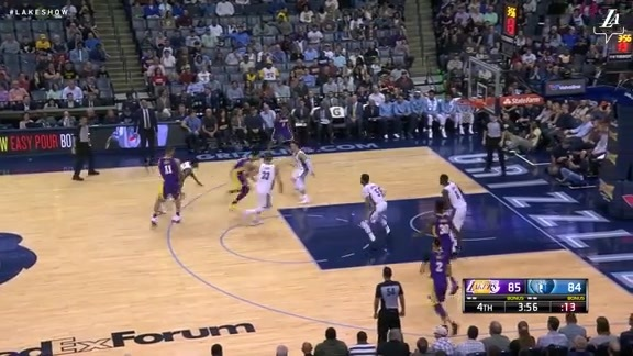 HIGHLIGHTS: Lakers at Grizzlies