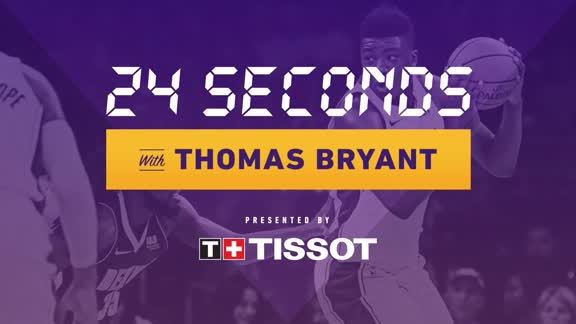 24 Seconds with: Thomas Bryant