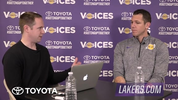 Lakers Voice: Luke Walton
