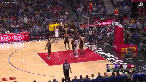 Zubac with the Block