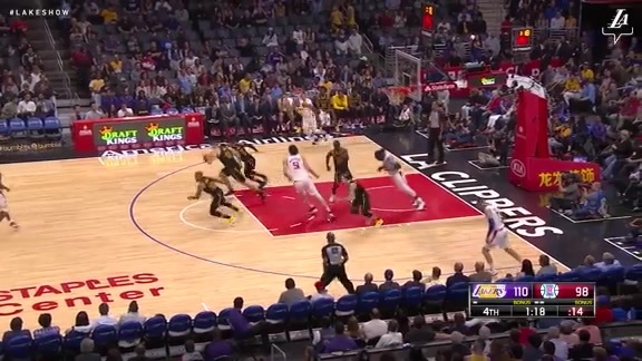 HIGHLIGHTS: Lakers at Clippers