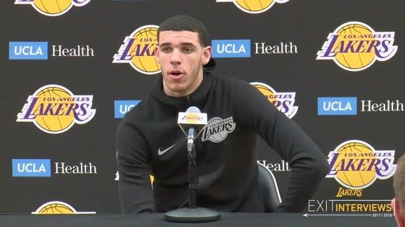 2018 Exits: Lonzo Ball