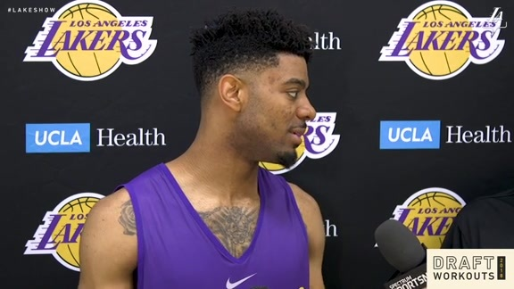 Draft Workouts: Jalen Hudson (5/7/18)