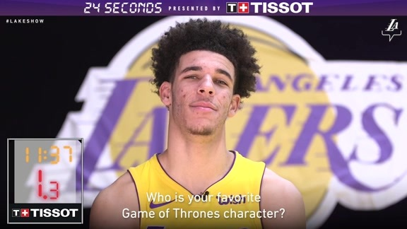 24 Seconds With: Lonzo Ball