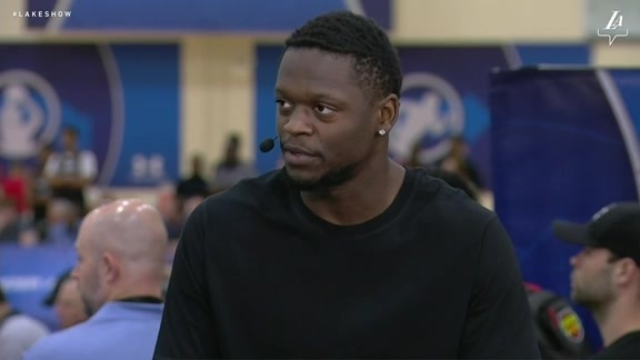 Draft Combine: Julius Randle (5/17/18)