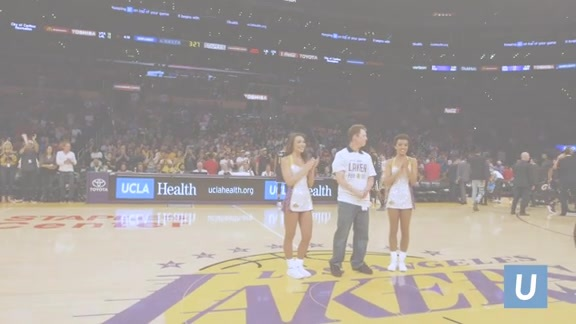 UCLA Health Laker For A Day - Joey Paulk