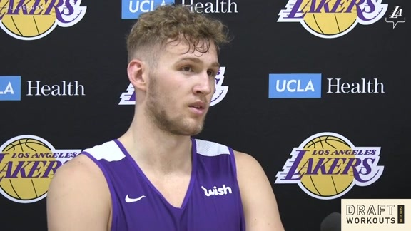 Draft Workouts: Jock Landale (5/21/18)