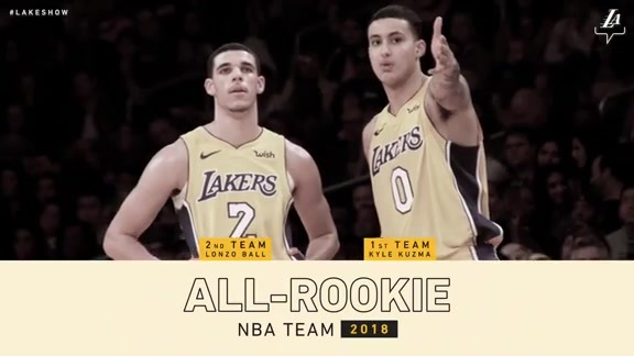 Kuz and Zo Named to All-Rookie Teams