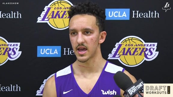 Draft Workouts: Landry Shamet (5/31/18)