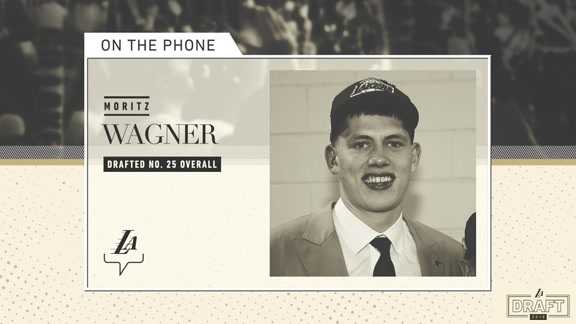 On the Phone: Moritz Wagner