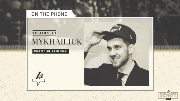 On the Phone: Sviatoslav Mykhailiuk