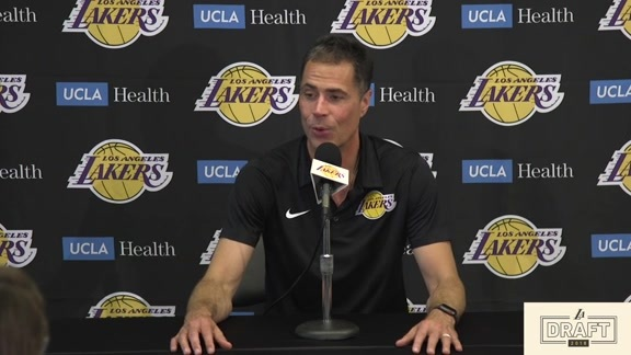 Post-Draft Press Conference: Rob Pelinka