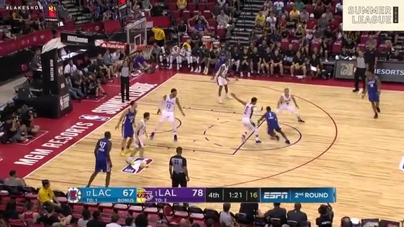 HIGHLIGHTS: Lakers vs. Clippers (7/12/18)