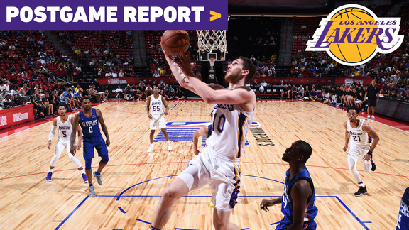 Postgame Report: Lakers Knock Off Clippers Improve To 4-0 in Vegas
