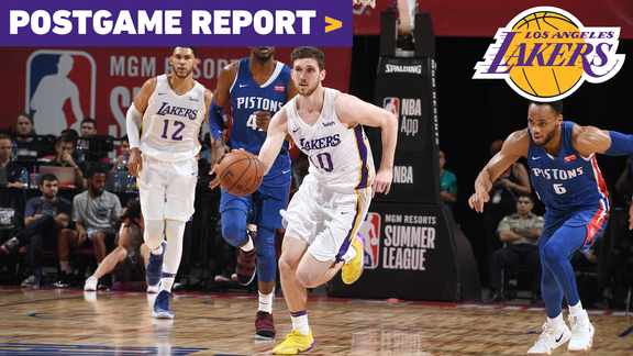 Postgame Report: Wire-to-wire win puts Lakers in Summer League semifinals