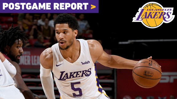Postgame Report: Lakers Clinch Finals Berth After 2OT Battle With Cleveland