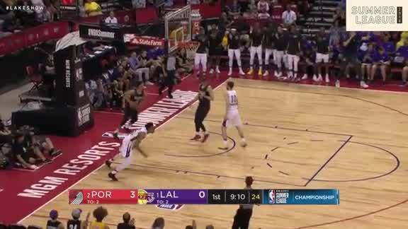 Johnathan Williams' Breakaway Slam