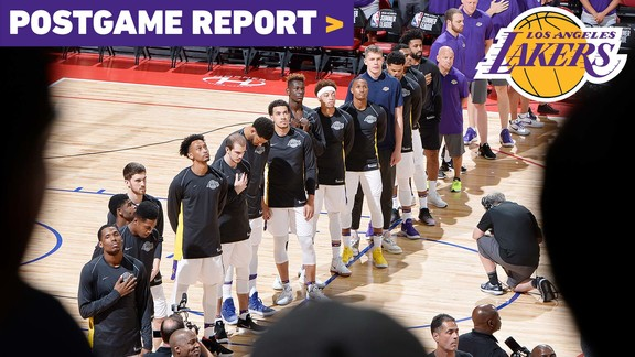 Postgame Report: Lakers Finish 6-1 in Summer League After Championship Loss to Portland