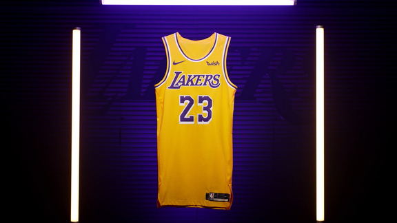 Lakers Unveil New Uniforms for 2018-19