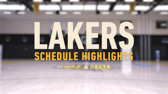 2018-19 Schedule Highlights