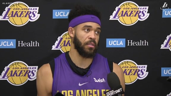 Training Camp: JaVale McGee (10/3/18)