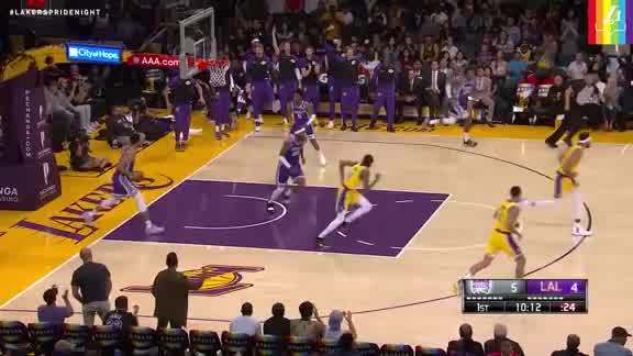 Ingram Throws it Down