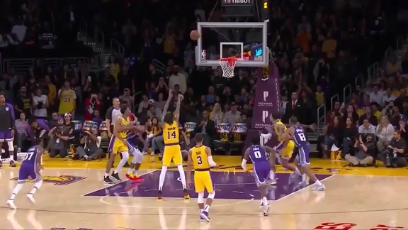 HIGHLIGHTS: Kyle Kuzma vs. Kings