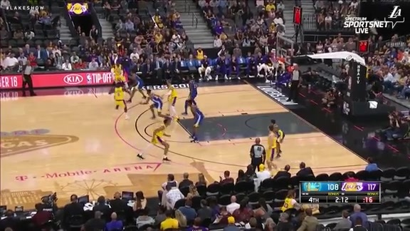 HIGHLIGHTS: Lakers vs. Warriors (10/10/18)
