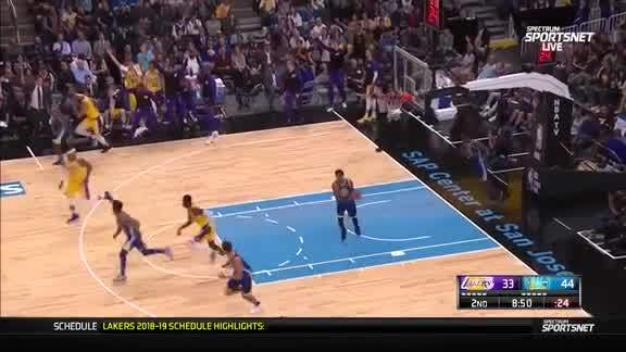 JaVale McGee for Three