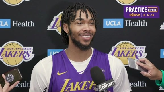 Practice Report: Brandon Ingram (10/16/18)