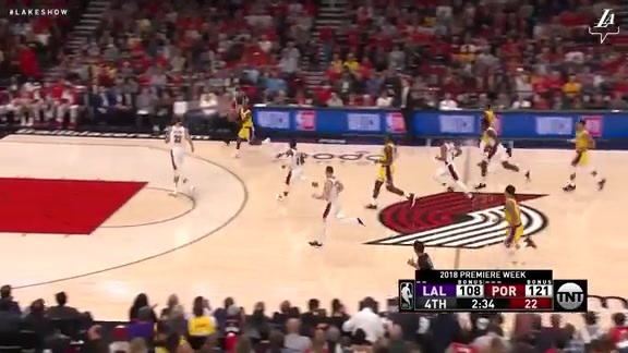 HIGHLIGHTS: Lakers vs. Trail Blazers