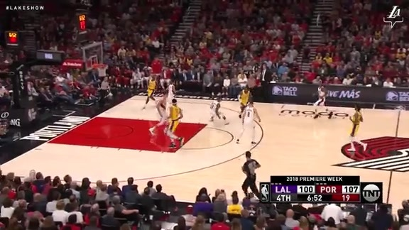 LeBron James Highlights vs. Trail Blazers