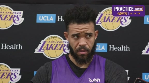 Practice Report: JaVale McGee (10/19/18)
